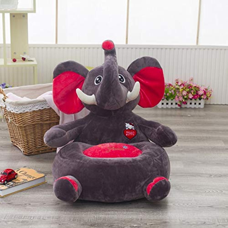calidad de primera clase Daxiong Animales de Dibujos Animados para Niños Niños Niños Lindo sofá Perezoso Elefante Asiento de Juguete de Felpa cómoda decoración de Animales para Niños Sala 4,C  Compra calidad 100% autentica
