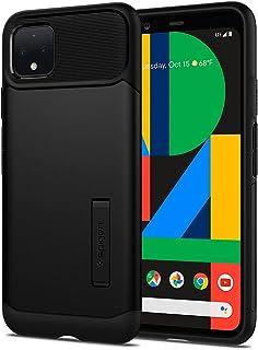 Spigen Slim Armor designed for Google Pixel 4 case cover - Black