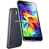Samsung Galaxy S5 - G900-16GB - GSM Unlocked - Android Smartphone (Black) (Renewed)