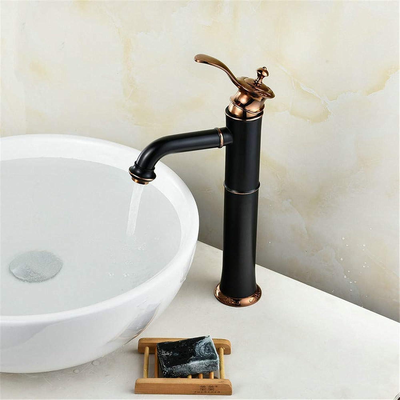 Wasserhahn Küche Waschbecken Badezimmer Einloch-Wasserhahn Waschbecken Wasserhahn warme und kalte Waschtischmischer Badezimmer Waschbecken