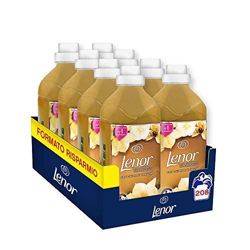 LENOR Ammorbidente Oro & Fiori di Vaniglia 208 Lavaggi, Maxi Formato 8 x 26 Lavaggi'