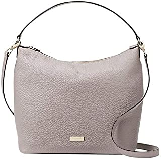 Kate Spade New York WKRU4620-992 Kaia Prospect place cityscape Gray Leather Crossbody Shoulder Bag