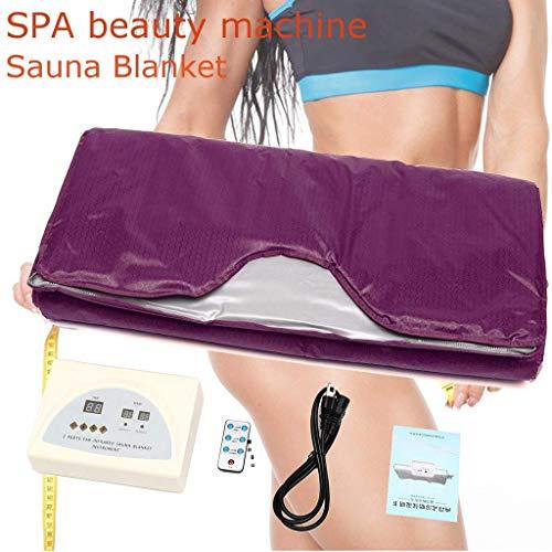 Tragbare Persönliche Saunadecke Digitale Decke Für Fernes Infrarot (FIR) 2 Zonenregler Body Shaper Gewichtsverlust Professionelle Entgiftungstherapie Anti Aging Beauty Machine