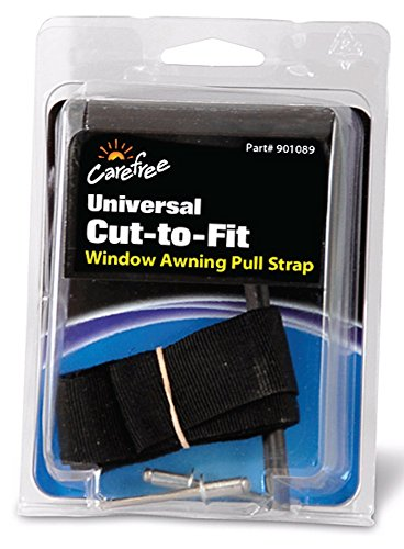 """Carefree 901089 Black 31"""" RV Awning Replacement Pull Strap Cut-to-Fit"""