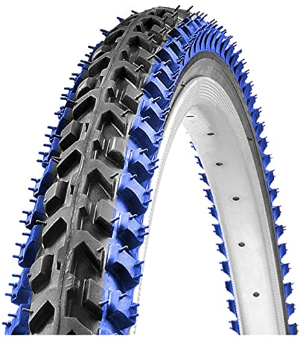 RALSON Made in India 26 X1.75/1.95 Cycle TYRE for 26T Cycle in Orange/Blue/RED Type Firm Grip (Color OR Grip AS in Stock)
