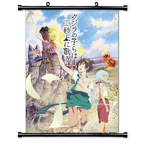 Daaint baby Children of The Whales (Kujira no Kora WA Sajou ni Utau) Anime Fabric Wall Scroll Poster (32x45) Inches