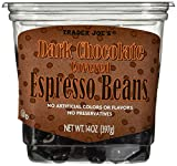 Trader Joe's Dark Chocolate Covered Espresso Beans 14 oz. from Trader Joe's