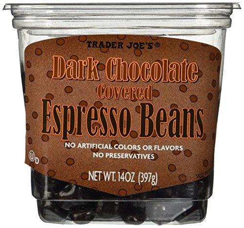 Trader Joe's Dark Chocolate Covered Espresso Beans 14 oz.