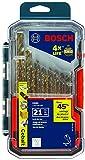 BOSCH 21 Piece Cobalt Metal Drill Bit Set CO21