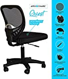 SAVYA HOME Apex Quest Medium Back revolving Office Chairs (Black)