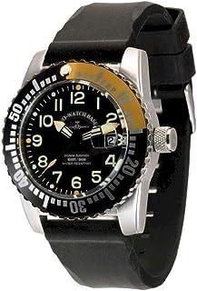 Zeno Watch Basel - Reloj para Hombre Analógico Automático con Brazalete de Silicona 6349-12-a1-9