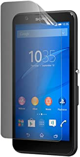 Celicious Privacy 2-Way Anti-Spy Filter Screen Protector Film Compatible with Sony Xperia E4