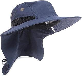 Gogolan Sombreros de protección UV para Exteriores, Cuello Ancho, Cubierta Completa para la Oreja, Ideal para Pesca, Senderismo, Caza
