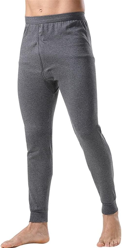 GELTDN Thermal Underwear Men Loose Winter Warm Thermo Underwear Mens Leggings Long Pants Underpants Homme (Color : C, Size : L Code)