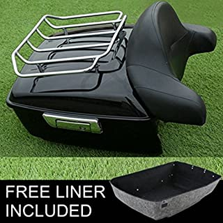 Tour Pack Lid Organizer for Road Glide Road King Electra Glide Street Glide Touring 1984-2013 Travel-Paks