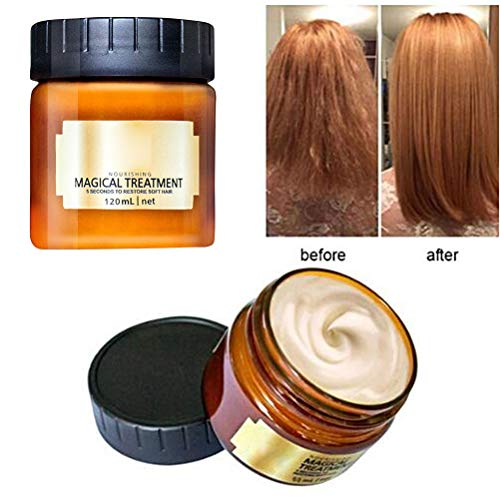 Surenhap Glattes Haar Conditioner Mask Haarpflege Magical Hair Treatment 5 Sekunden für repariert...