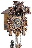 Selva NEGRA uhrenfabrik kammerer reloj de madera con mecanismo de pilas y cuco -...