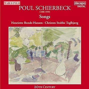Schierbeck: Songs