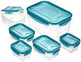 Zoom IMG-1 amazonbasics set di contenitori per