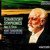 Tchaikovsky: Symphonies No. 4 5 & 6 by Kurt Sanderling (2010-08-18)