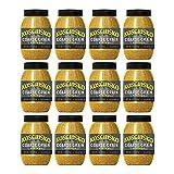 Plochman's Kosciusko Country Style Coarse Grain Mustard, Hearty Country Classic, 9 Ounce Jar, 12 Pack, 108 Oz