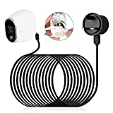 Power Adapter for Arlo Camera,LANMU Outdoor Waterproof Power Cable for...