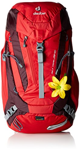 Deuter ACT Trail 28 SL fire-aubergine