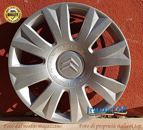 Algemene Citroen C3 en Citroen Picasso wieldoppen Quattro (4) diameter 15