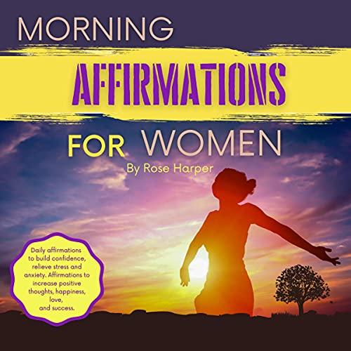 Morning Affirmations for Women cover art