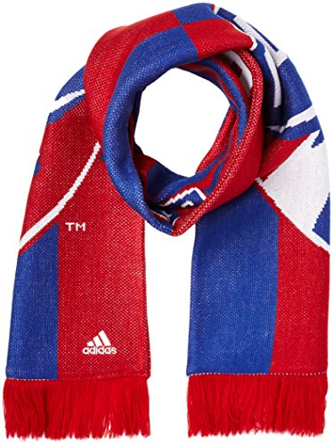 MLS FC Dallas Adult Checkerboard Jacquard Scarf, One Size, Red/Blue