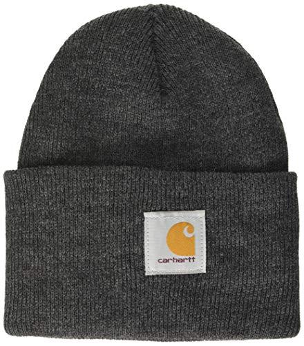 Carhartt Workwear Beanie Mütze Watch Hat Arbeitsmütze, dunkelgrau, A18CLH