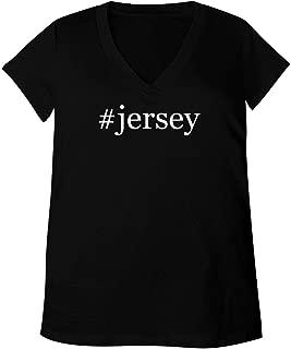 #Jersey - Adult Bella + Canvas B6035 Women's V-Neck T-Shirt