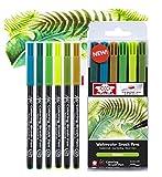 Manga Sakura Koi Coloring Brush Pen Skin Tones 6 Pack botánico (France Import)
