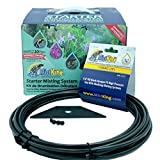 MistKing Reptile Misting System - V 5.0 Mister System Bundle - Mosquito, Reptile, Greenhouse Misting System - Reptile Starter Kit - Terrarium Mister- Includes Extra 25' Tubing and Fitting Wedge