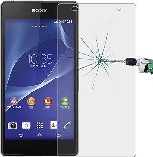 Telefon tillbehör 50 st för Sony Xperia Z2 / L50W 0.26mm 9H 2.5D härdat glas Screen Film, Inga Retail Package