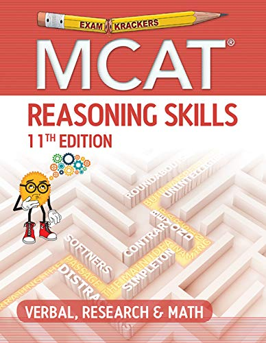 Examkrackers Mcat Reasoning Skills: Verbal, Research & Math