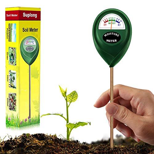 Soil Moisture Sensor Meter, Hygrometer Moisture Sensor for Garden, Farm, Lawn Plants Indoor & Outdoor(No Battery Needed)