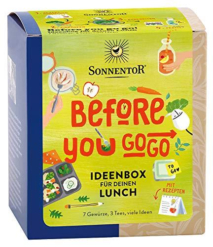 Sonnentor Bio Gewürz- und Teemischung, Ideenbox für Deinen Lunch