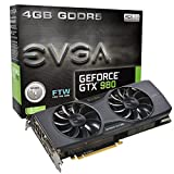 EVGA GeForce GTX 980 4GB FTW GAMING ACX 2.0, 26% Cooler and 36% Quieter Cooling Graphics Card 04G-P4-2986-KR