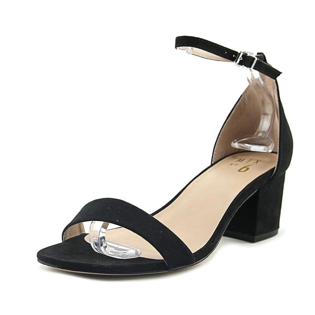 ゾーン恵み故意の[Mix No 6] Womens lexine Open Toe Special Occasion Ankle Strap Sandals [並行輸入品]