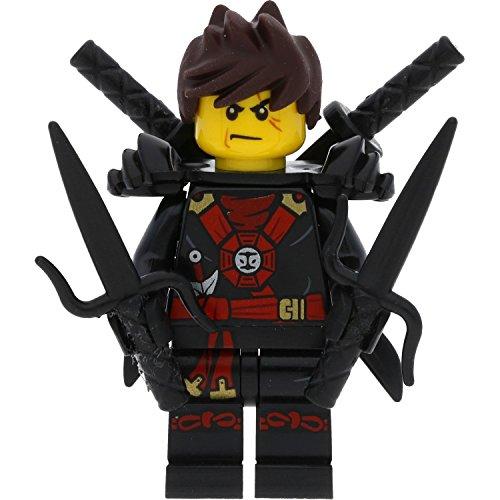 LEGO Ninjago - Figura de Kai en Deepstone con espadas (possession)