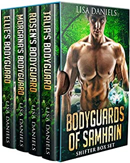 Bodyguards of Samhain Shifter Box Set by [Lisa  Daniels]