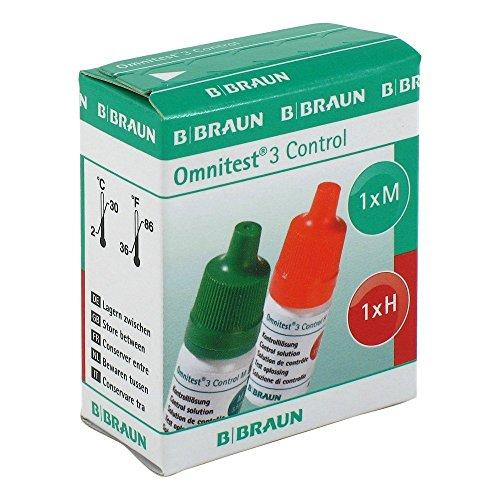 Omnitest 3 Kontrolllösung, 2X3.5 ml