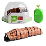 Primst Infrared Remote Control Caterpillar Toy, Funny Rc Animal Toy, Novelty Gaggle Toy (Orange)