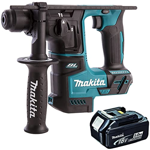 Makita DHR171Z 18V LXT Brushless SDS+ Rotary Hammer with 1 x 5Ah BL1850 Battery