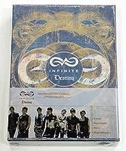 INFINITE - Destiny In America DVD [2Discs + 50p Photobook + 100p Note + 3 Stickers] + Extra Gift Photocards Set