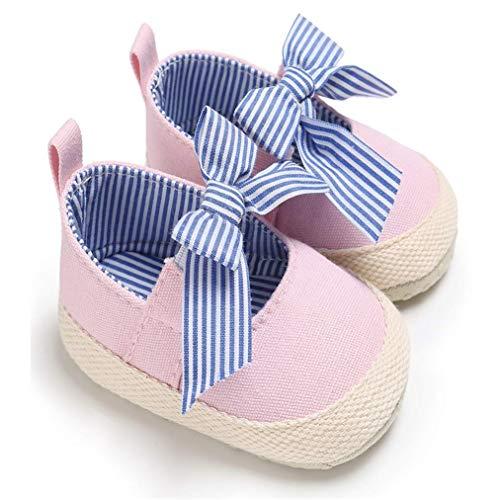 Zapatos Bebe NiñO NiñA Rojo Bebé ReciéN Nacido Bebé NiñAs Arco Antideslizante Zapatos De Cuna Suave Suela Zapatillas De Deporte Prewalker