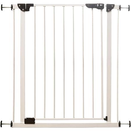 アイリスプラザ ペットゲート ドア付き オートクローズ 突っ張りタイプ ホワイト 78x79センチメートル (x 1)