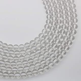 35PCS 10mm Natural Gemstone Loose Beads Round Crystal Energy Stone for Jewelry Making 1 Strand 15