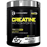 Forzagen Creatine Powder Monohydrate - Workout Supplements | No More Pills, Capsules | Best Creatine Unflavored For Muscle Growth Supplements For Men & Women | Organic Creatine monohydrate